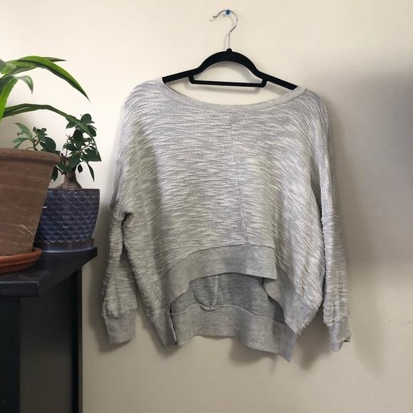 Madewell Tops - Hi-Line •MADEWELL• crop sweatshirt